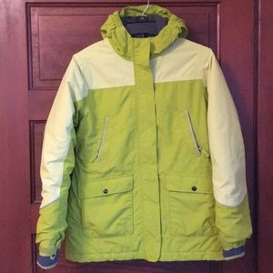 Excellent Lands' End squall snow jacket